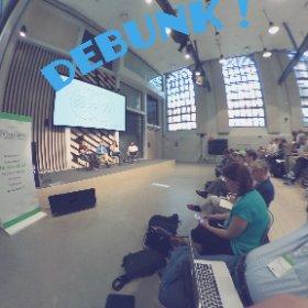 Debunking debate 🤸🤺🤺🤺 #GlobalFact4 #theta360