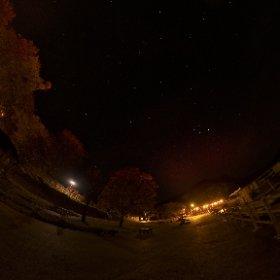 支笏湖畔、晩秋の星空。 #shikotsuko #theta #360 #hokkaido #chitose #panorama #360photo #360photography #ricohtheta #360camera #theta360 #支笏湖 #星空 #nightview #hokkaido #北海道 #theta360