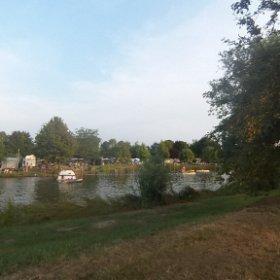 Viswater camping de Vergarde in de Betuwe