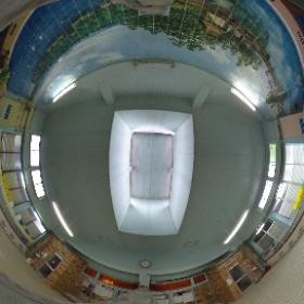 新潟市中央区沼垂 さか井湯 男女浴室 #theta360