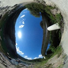熊野神社大杉下の河原