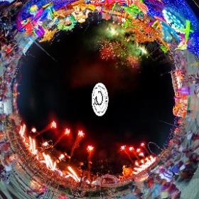Fireworks at River Hongbao 2017 - 年年有鱼 (Abundance for All). #fireworks #riverhongbao #godoffortune #firefly3d  #AbundanceforAll #riverhongbao2017 #CNY #cny2017 #fishes #ansonchew #anson360 #theta360