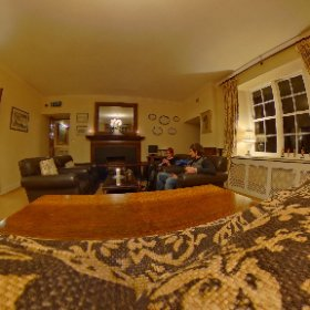 A moment in the living room of the Abbeyglen Castle Happy Birthday Ais #sakura3d #theta360 #theta360uk