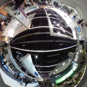 360 Grad Blick in die ISH Halle 6.0 mit Uponor, Rehau, ... #theta360