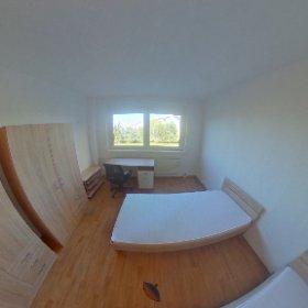 Zimmer für Monteure im Haus am Rügendamm, hier: ZweiBettzimmer #theta360