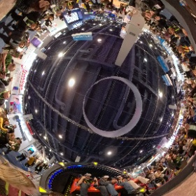 Huge crowds at CES 2019 flocked to this virtual reality roller coaster — a $180,000 machine compact enough to fit in a shopping mall, and powerful enough to deliver heart-pumping G forces to riders.