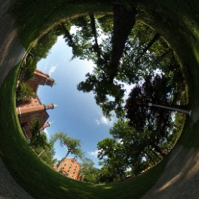 Antioch College campus looking good #theta360