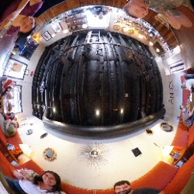 Welcoming a few friends to #Flagstaff's @tinderboxkitchen Annex Cocktail Lounge. They just moved here from #Florida. #theta360