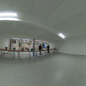 Das Schützenheim in Saal von innen