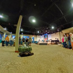 Join us in standing for #Peace #AWorldThatWorksForEveryone #theta360