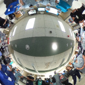 The ECMC crew on the last shift in the old Emergency Department moments before closing it down and moving into the new State of the Art facility on the Erie County Medical Center Campus.  This unit opened in 1979. #theta360
