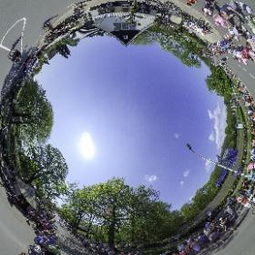 waiting for the Giro d'Italia at Hoenderloo - NL #hoenderloo #giro #wielrennen #dutch #theta360