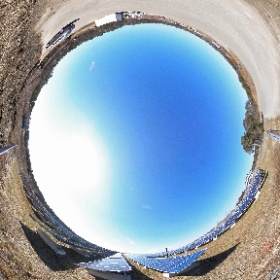 360° panoramic of the solar panels at the Harwich Landfill. #theta360