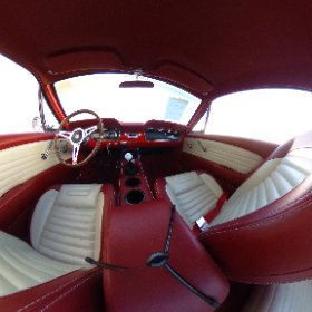 360 degree view of 1965 Mustang gt350 Fastback tribute interior