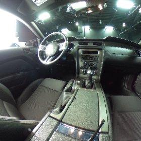 2014 Mustang GT 5.0 custom.   360 degree view of interior.