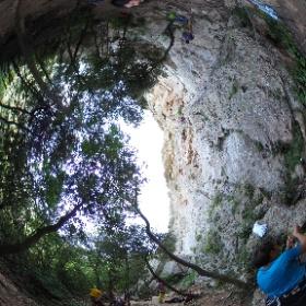 Rocce dell'Orera #climbing #theta360it