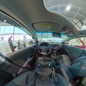 a view from the inside of the 2018 Ionic hybrid