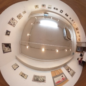 The ArtcomplexCenter of Tokyoで開催中の、もんちほしさん @monchihoshi の個展にお邪魔してきました。会場の様子。