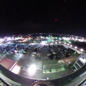THETA Sで撮るなんちゃってドローン写真、夜景でも行けるか試してみよう。 #theta360