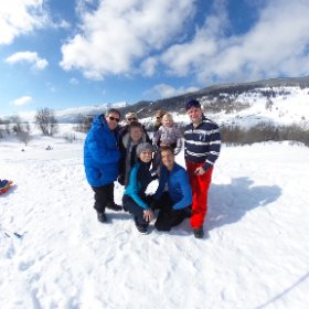 A day on the slopes. #theta360 #theta360uk