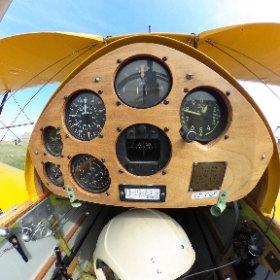 TigerMoth Cockpit Rear