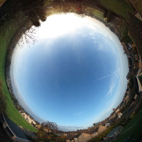 View from the top of my house! #theta360