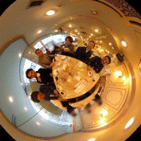 成城学園前駅前のレトロな喫茶店でお疲れ様でシータ。 おはぎが美味しかった( ^ω^ ) #theta360