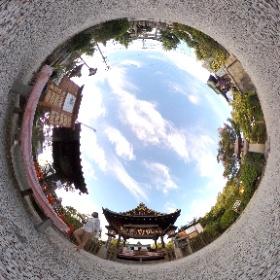 #神泉苑 #Shinsenen #RICOH #thetas #パノラマvr #panoramavr #Japan #Kyoto #theta360