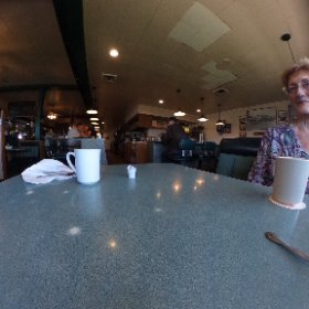 Nice breakfast at The Truck Stop!  ☕️😎 #theta360