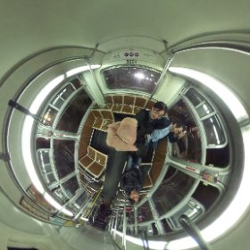 muni bus in San Francisco! #theta360