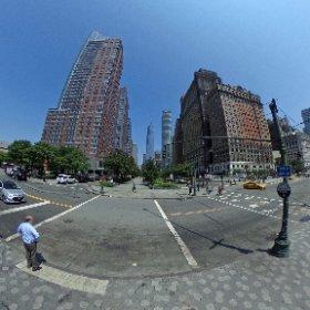 One World Trade Center - Manhattan - New York #theta360