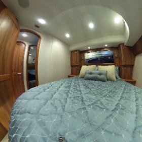 The master stateroom of the new Winter Custom Yachts 60 - Wolverine.