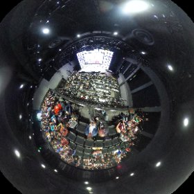 Spherical photo at the world summit of Google Developer Group in Silicon Valley @gdg @gdg_es #io18 #theta360