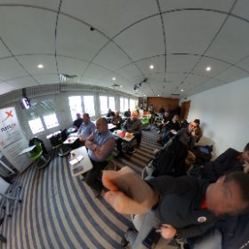 en pleine discussion #ra et #rv a la webschool ! #theta360 #theta360fr