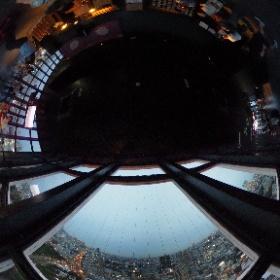 Tokyo Tower, observatorio a 145 metros #JaponATB #theta360