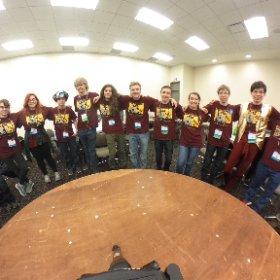 4/30  Galileo Semi-Finalists take a 360 team pic