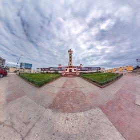 Vista exterior El Faro, La Serena. IV Región de Chile.