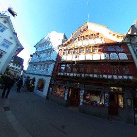 Rue principale à Appenzell