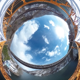 群馬県沼田市薗原橋 SonoharBridge Numatashi Gunmaken . Japan #theta360