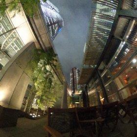 [360度撮影]グランドハイアット東京 オークドアのビアガーデン #theta360