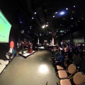 15 novembre 2017 au Cosmodôme de Laval / Conférence du Dr Lamontagne sur le thème: Quand fiction et réalité se rencontre. «Là où personne n'est encore allé...»