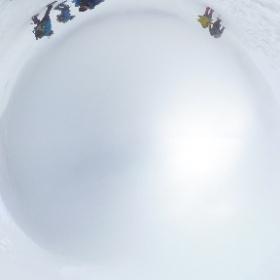 大山の山頂にてグルグル写真を撮ってみた(^^)v