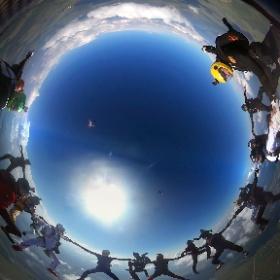 #24way head up freefly European record, 23/07/2016, DZ Pushchino, Russia! More info: http://skycenter.aero/news/2016/07/23/freefly-record-2016 #freefly #skydiving