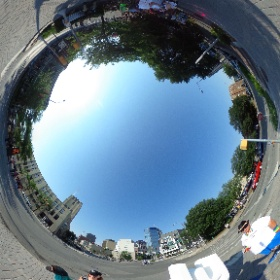Indy sign for pride parade 2018 #theta360