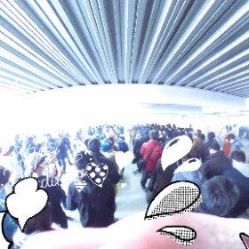 キングオブキングス高槻店の朝の整列風景‼ #theta360
