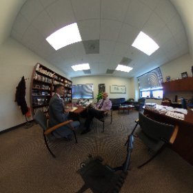 Discussion of higher education with Stew Edelstein focuses on job creation #theta360