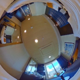 Check out cabin 9054 on the MSC Divina! #theta360