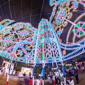 第23回 神戸ルミナリエ 「未来への眼差し」 2018 Kobe Luminarie #illumination #Luminarie #光の饗宴 #theta360