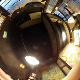 京都にある「あじき路地」のフクロウグッズ販売店! 「ponponjam」さんにお邪魔してきました! 全天球画像でどうぞ!
