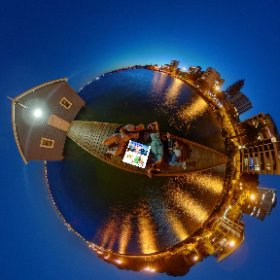 360 spherical Blue Boat House on Mounts Bay Rd Crawley a humble shed with a long queue of people seeking selfies, SM hub https://linkfox.io/qilfw BEST HASHTAGS  #TheBlueBoatHouseWA  #Firefly3d #theta360